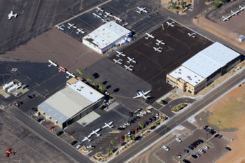 Chandler Air Service from above